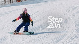 Step On®: Snowboarding Simplified for Beginners