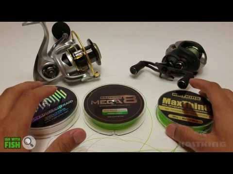 KastKing Braided Fishing Line Review – MaxThin8 – Mega8 – SuperPower