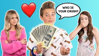 Paying My Crush To Tell Her Deepest SECRETS **IT WORKED** ❤️💵 | Gavin Magnus ft. Coco Quinn