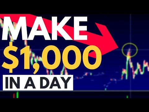 The Process Behind Making $1,000 In A Day Trading Penny Stocks