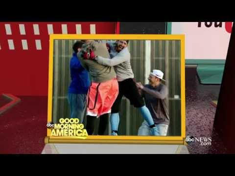 How 'Dude Perfect Bootcamp' Started | Good Morning America A