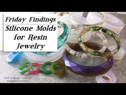 DIY Resin Bracelets & Rings-Jewelry in Silicone Molds-Friday Findings Review