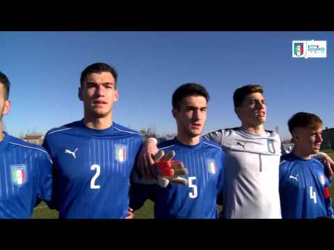 U18 Italia-Belgio 6-0: il match visto dalla Vivo Azzurro Cam
