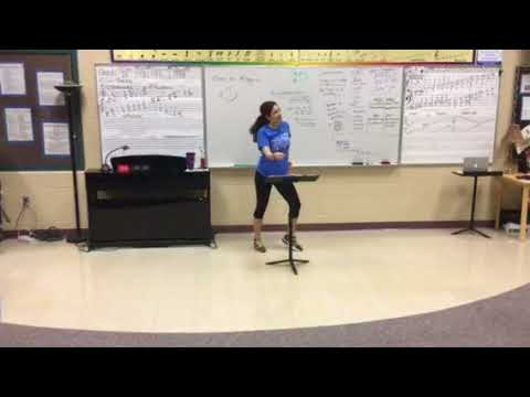 BGHS Choir Choreography - You Cant't Stop the Beat