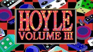 Hoyle Official Book of Games Volume 3 gameplay (PC Game, 1991)