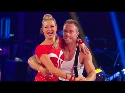 Denise Van Outen & James Jive to 'Tutti Frutti'- Strictly Come Dancing 2012 - Week 2 - BBC One