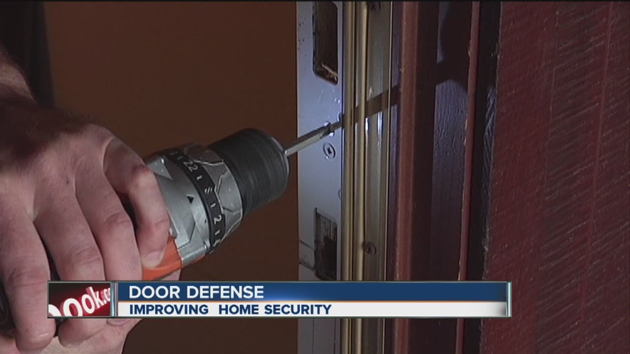 & How to prevent burglars from kicking in your front door - YouTube Pezcame.Com