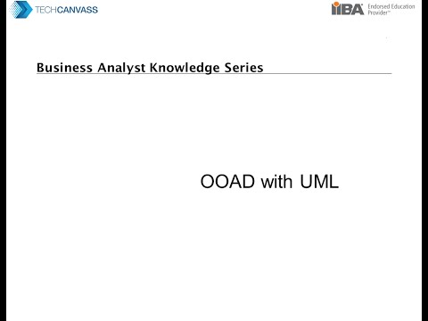 Business Analyst training: Introduction to OOAD with UML