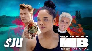 Let's Talk That Men In Black: International Trailer! | SJU
