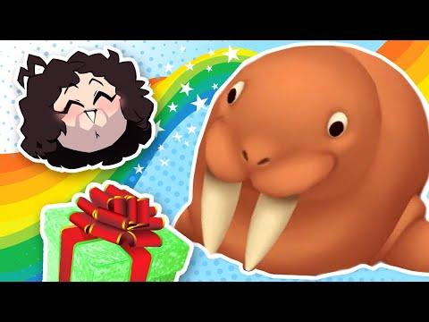 Dan gives a walrus A LITTLE SURPRISE!!!! - Links Awakening