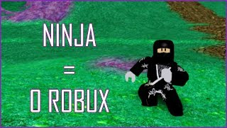 How To Look Like Ninja For 0 Robux ! | ROBLOX
