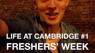 Cambridge Vlog 1 - Freshers