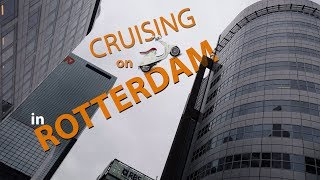 Cruising through my city ROTTERDAM on SCOOTER - 4K video | Netherlands