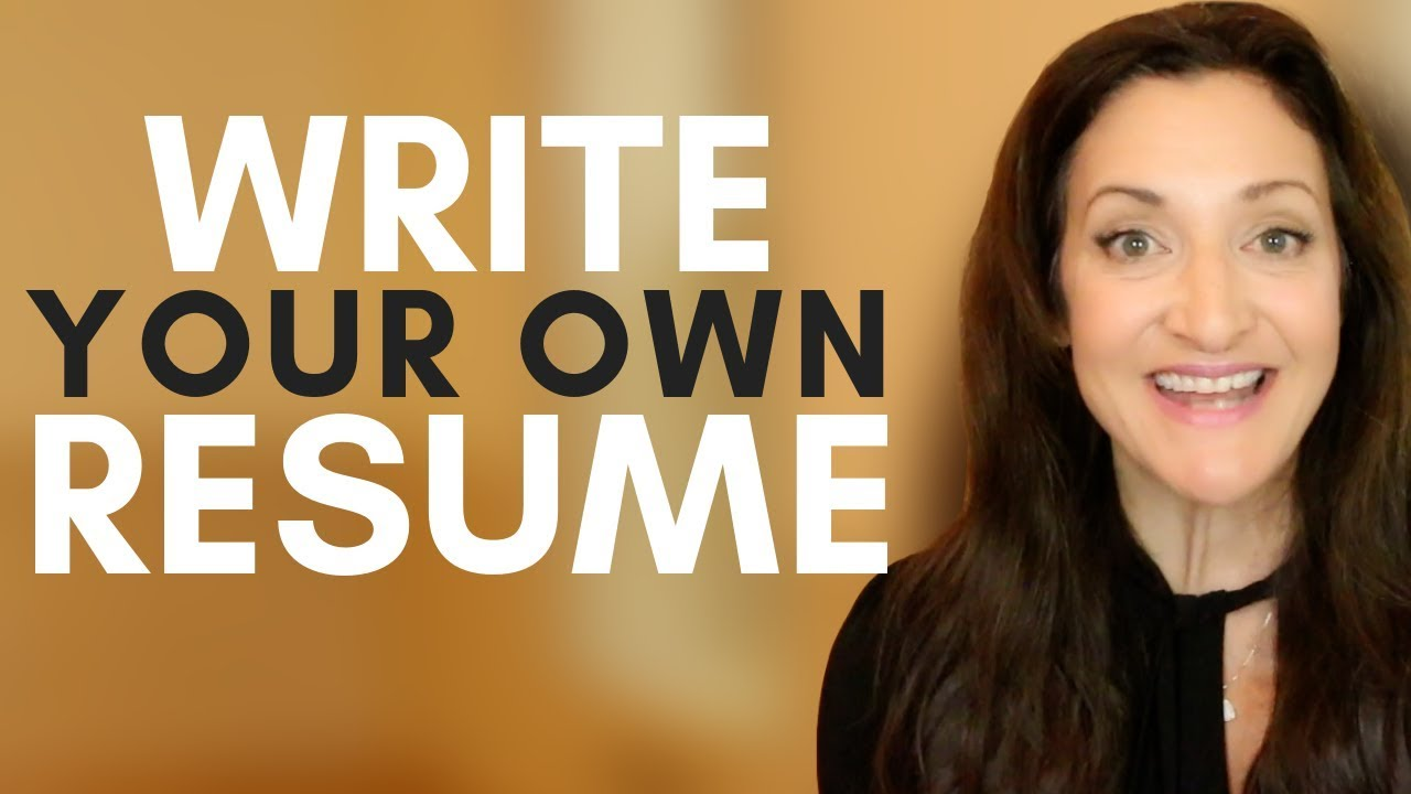 1 reason to write your own resume a k a why you shouldn t hire a