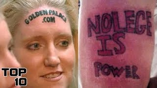 Top 10 Worst Tattoos Ever - Part 5