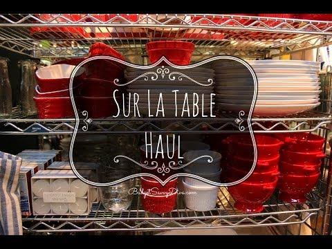 Sur La Table Haul