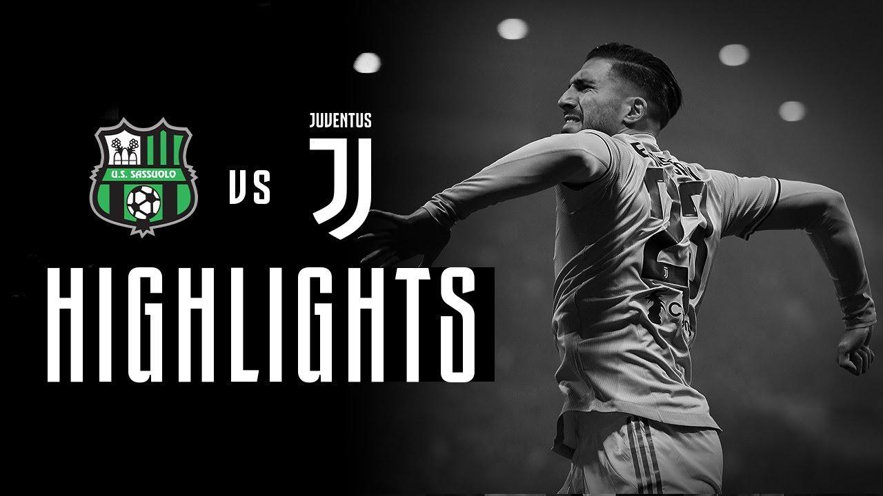 HIGHLIGHTS  Sassuolo vs Juventus - 0-3 - The Bianconeri win by three ... b086f370cff31