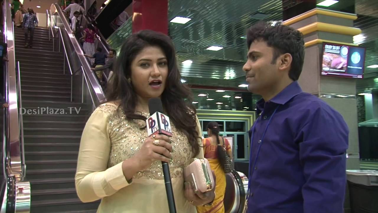 Telugu Actress speaking to Desiplaza TV at ATA Convention,chicago.