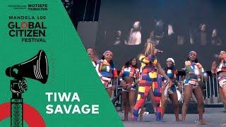"Tiwa Savage Performs ""Diet"" | Global Citizen Festival: Mandela 100"