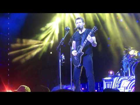 "Nickelback Bangor, ME 7/7/17 ""Song On Fire"""