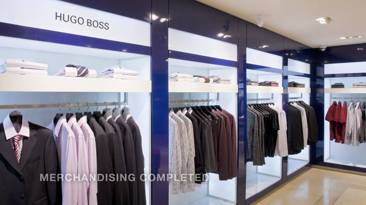 Collective Visual Merchandising Installation And