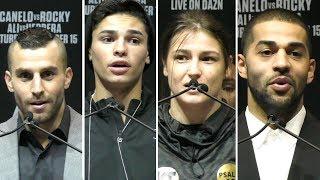 David Lemieux, Ryan Garcia, Katie Taylor & Sadam Ali - FINAL PRESS CONFERENCE