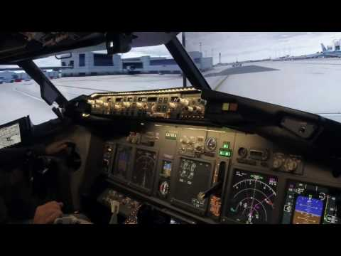 Boeing 737-800 Simulator flight from Miami to Tampa