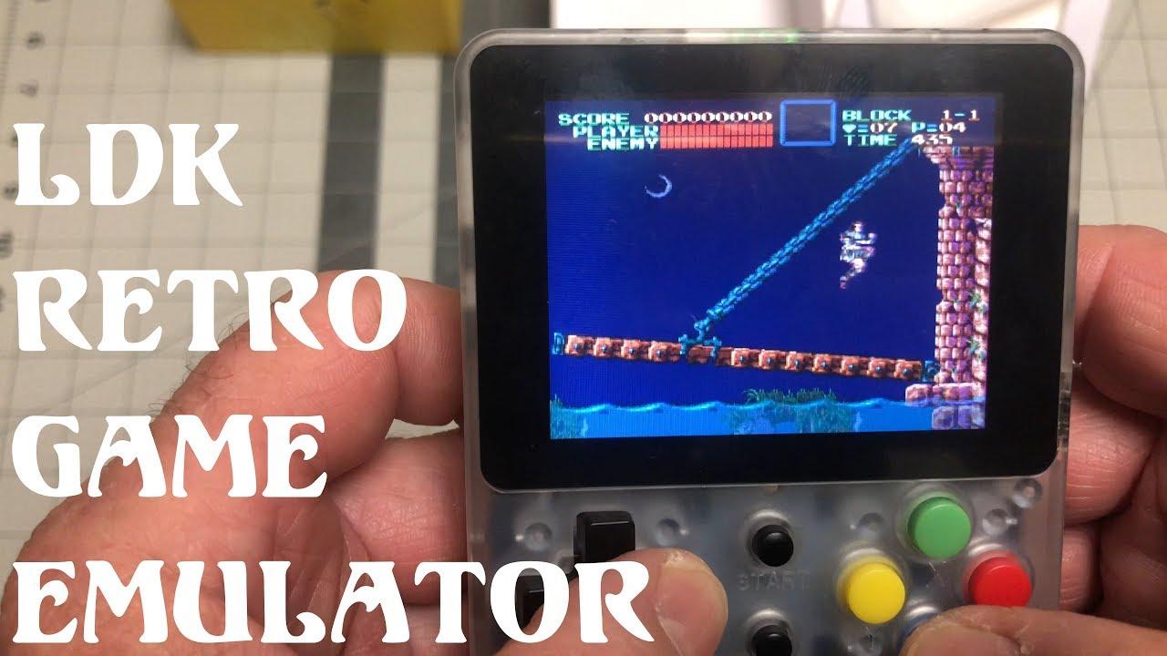Ldk Retro Handheld Gaming Emulator Setup And Review 201tubetv