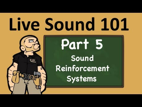 Live Sound 101: Sound Reinforcement Systems
