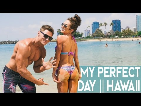 My Perfect Day | Helicopters + Surfing + Food + Photoshoot | Hawaii