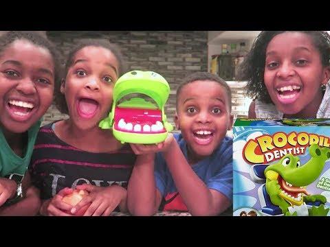 EXTREME CROCODILE GAME! - Toy Game Challenge - Onyx Kids |