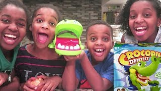 EXTREME CROCODILE GAME! - Toy Game Challenge - Onyx Kids