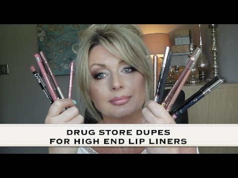 DRUGSTORE DUPES FOR HIGH END LIP LINERS