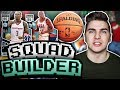 ONE PLAYER FROM THE EAST, ONE FROM THE WEST! NBA 2K17 SQUAD BUILDER