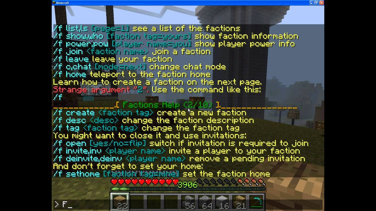 How to create a faction basic youtube for How to start building a house