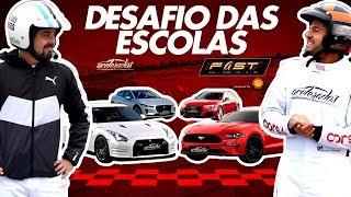 Rachas na chuva! GT-R, Mustang, RS 4 e I-Pace se encaram na pista molhada no FAST! - Especial #257