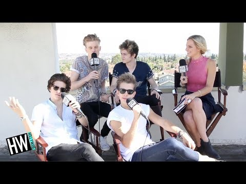 The Vamps Talk Love Life, Bad Habits & One Direction! (HOT SEAT)