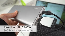 250 € für eine Powerbank?! | AlsterPlus Dual 100W USB-C im Test [Deutsch]