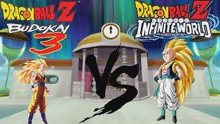 [TAS] DBZ B3 vs IW comparison - SSj3 Gotenks vs SSj3 Goku