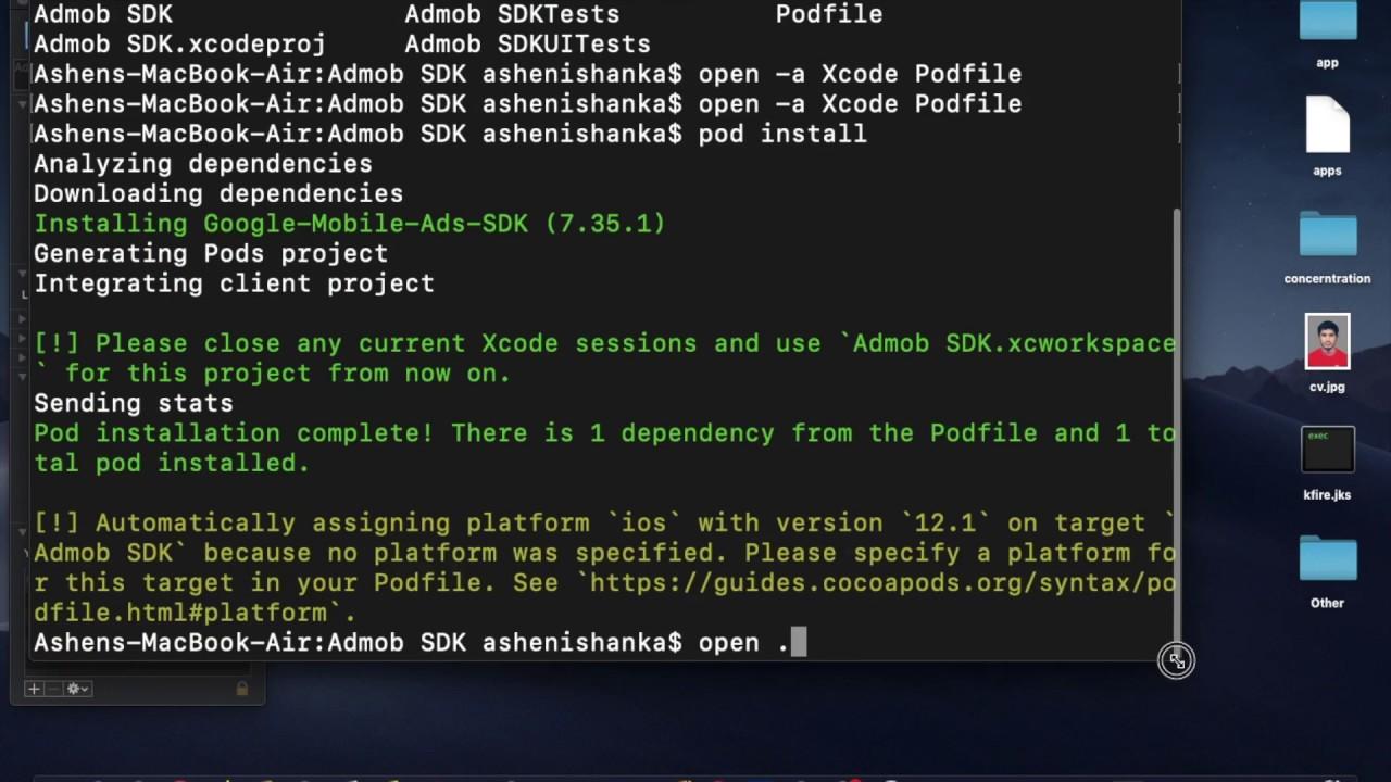 Admob iOS SDK Implementation Xcode Tutorial