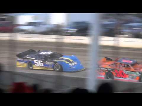 Deery Brothers Late Model heat 3 West Liberty Raceway 4/9/16