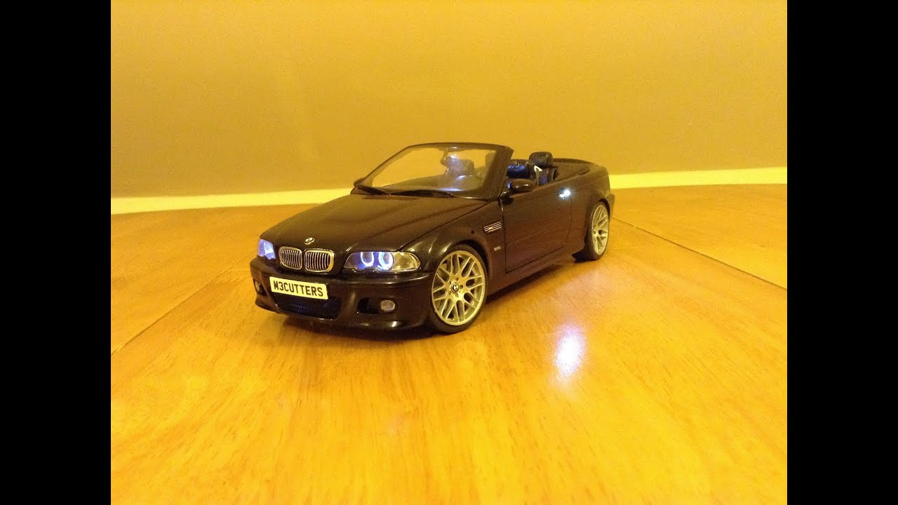 bmw e46 m3 convertible led model youtube. Black Bedroom Furniture Sets. Home Design Ideas