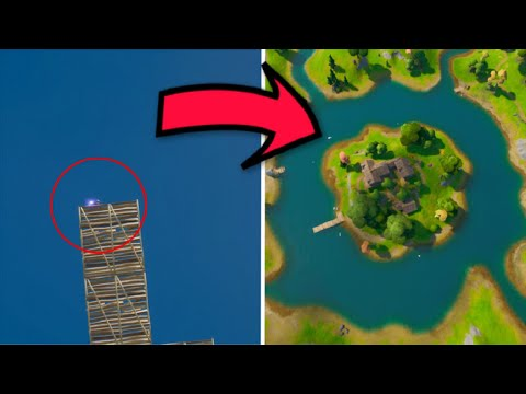 What Happens If We Skydiving From The SKYBASE To The Lake?? - Fortnite Chapter 2