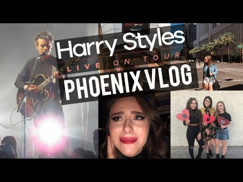 Harry Styles Live On Tour Phoenix Vlog