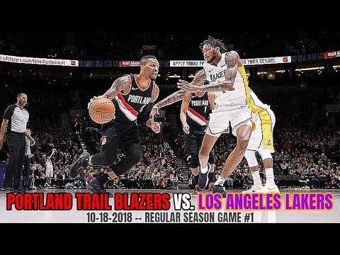 Portland Trail Blazers vs Los Angeles Lakers - Full Game Highlights - October 18, 2018