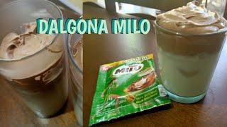 Dalgona Milo   Quarantine Challenge   My Version   Bisaya Episode