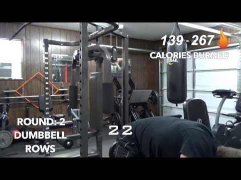 30 Minute Back Bicep And Legs AMRAP Workout Fuel Fitness Training