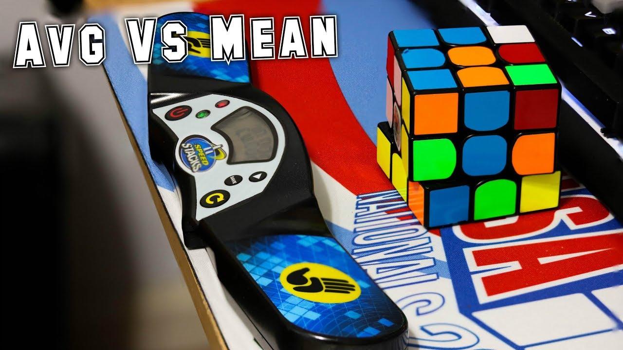 [Thuật Ngữ Rubik ] Sự Khác Nhau Giữa Avg và Mean