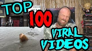 Top 100 VIRAL VIDEOS Of 2017 - REACTION