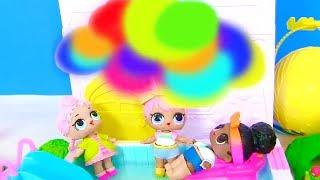 Куклы Лол Сюрприз! Дождь из Орбиз Мультик Lol Surprise Видео для детей